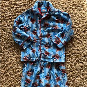 Thomas & Friends fleece pajamas